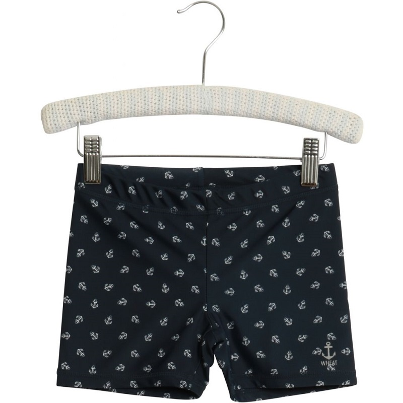 Wheat, UV badeshorts, Navy, STR 74/9M