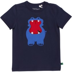 Freds World, Hippo front T, Navy