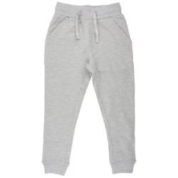 Nordic Label, Sweat bukser, grey melange