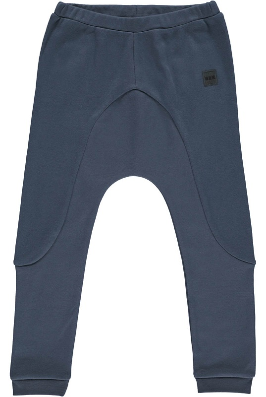 GRO, Plain Interlock bukser, Dark Washed, STR 74