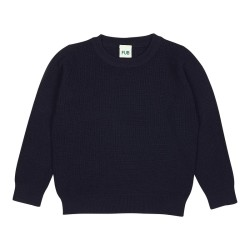 FUB, Thin rib sweater, Navy