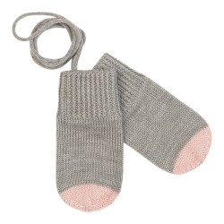 FUB, Baby handsker, Light grey/rose