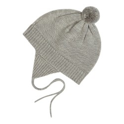 FUB, Baby hat, Light grey, STR 74/80