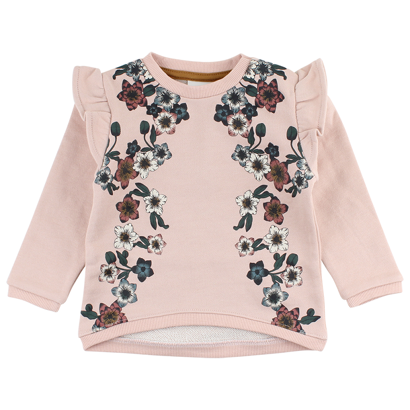 En Fant, Horizon sweat bluse, Rose dust