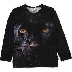 Müsli, Spicy panther T-shirt, Dark grey melange