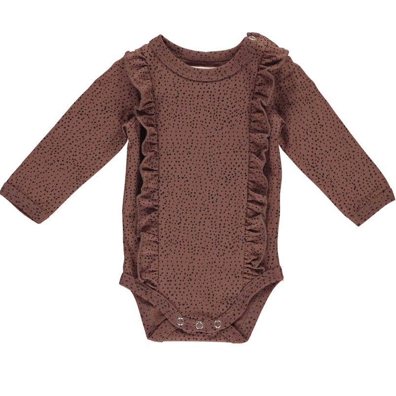 GRO, Aesthetic dots body, Raspberry brown