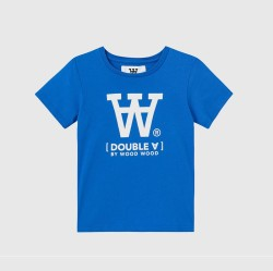 Wood Wood, Ola T-shirt, Bright blue