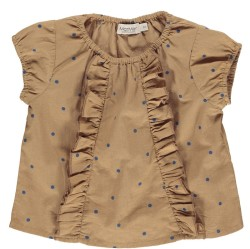 Marmar, Twilla top, Caramel dot