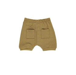 GRO, Baby shorts, Ochre green