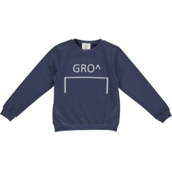 GRO, Mads sweat bluse, Stone navy