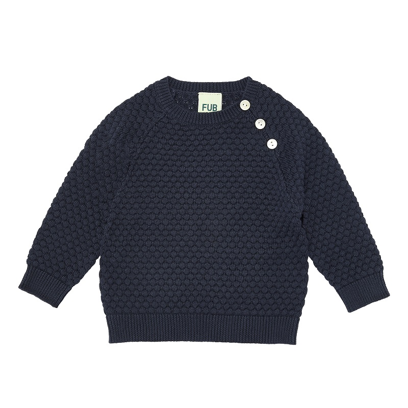 FUB, Baby bubble blouse, Navy