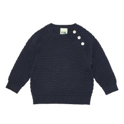 FUB, Baby bubble blouse, Navy, STR 68