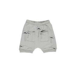 GRO, Drini baby shorts, Moss grey