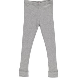 Modal leggings, Grey melange