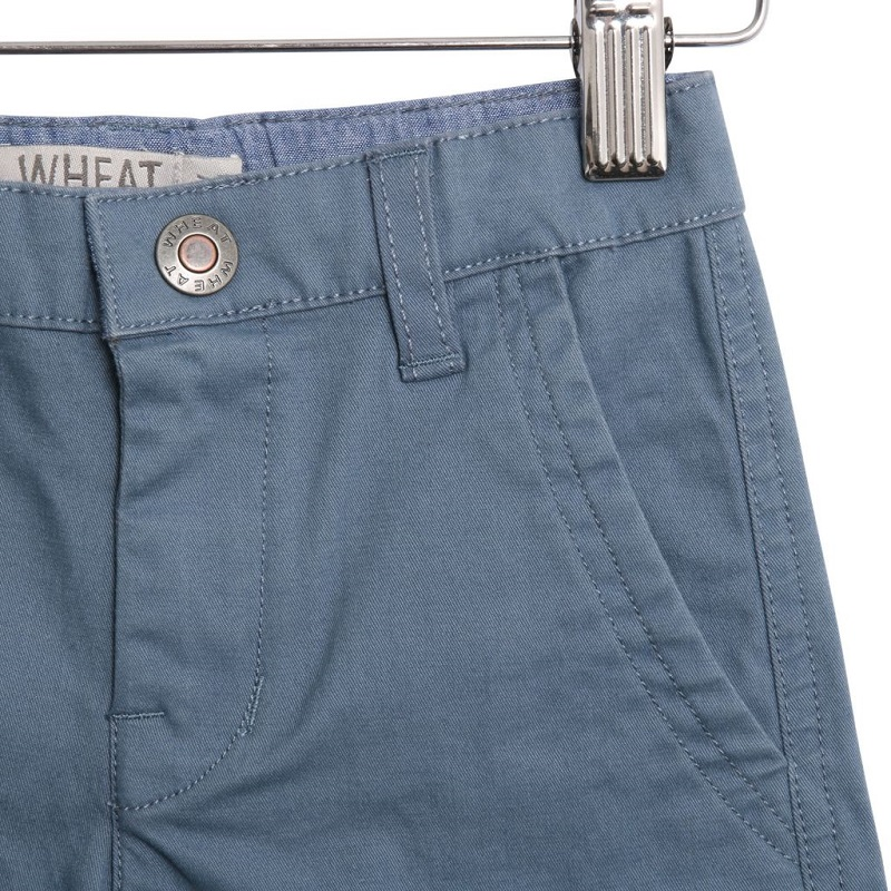 Wheat, Ditmer baby chino shorts, Bering sea, STR 80