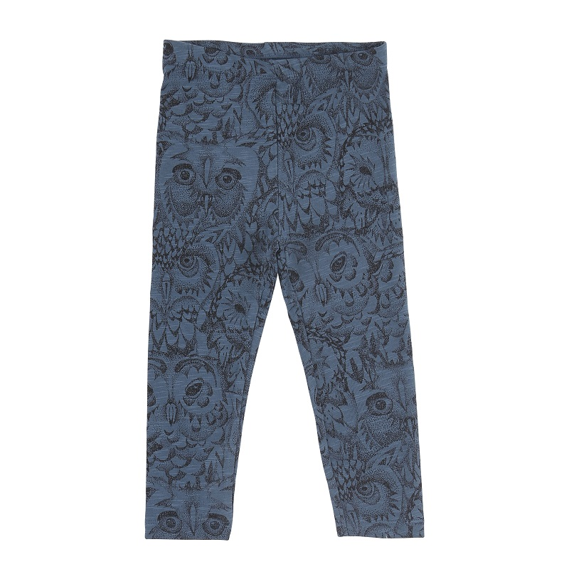 Soft Gallery, Owl leggings, Orion blue