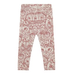 Soft Gallery, LIMITED Owl leggings, Mahogany