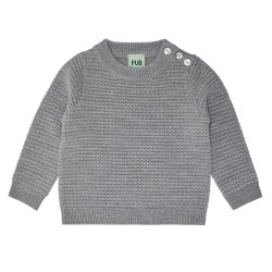 FUB, Uld strik, Light grey
