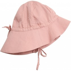 Wheat, Baby sol hat, misty rose