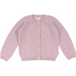 Knit cardigan, Rose