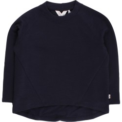 Slub sweatshirt, Navy, STR 92/98