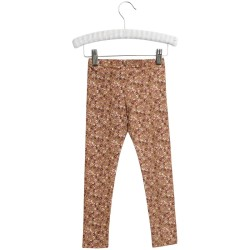 Wheat, Leggings, Caramel flowers