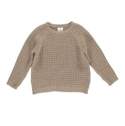 GRO, Isac ULD sweater, Taupe