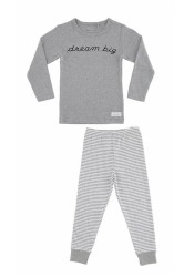 Dream big pyjamas, Grey melange