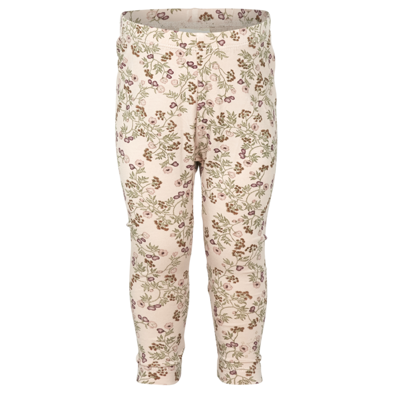 Enfant, Leggings, Rosa blomster