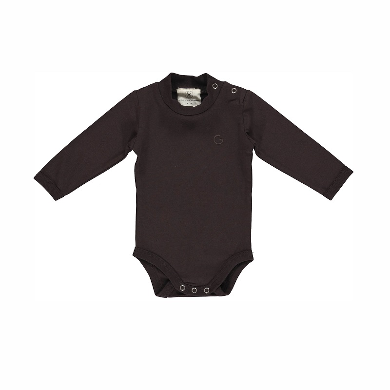 Gro, Laag body m. turtle neck, Black brown