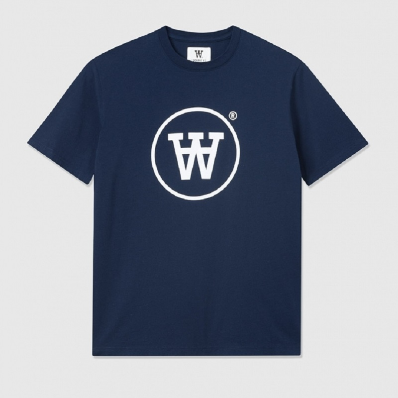 Wood Wood, Ola kids t-shirt, Navy