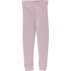 Woolly silk leggings, Rose